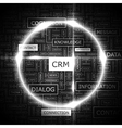 CRM vector image