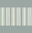 floral stripy seamless textile pattern flourish vector image vector image