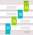 Modern Colorful Infographic vector image