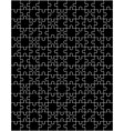 parts of black puzzle vector image vector image