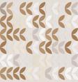 retro giometric seamless circles coffee vector image vector image