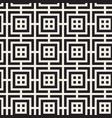 seamless lines mosaic pattern modern stylish vector image vector image