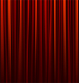 seamless red curtain vector image