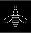 bee it is icon vector image vector image