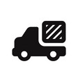 delivery truck icon cargo truck sign delivery van vector image vector image