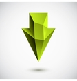 down green arrow vector image