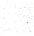 Green Confetti Background vector image vector image