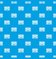 hospital pattern seamless blue vector image