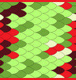 reptile scale pattern vector image vector image