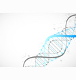 science template blue wallpaper or banner with a vector image