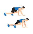 bear crawl exercise introduction step