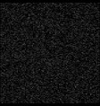 black and white speckled background vector image