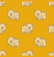 chow chow pattern seamless dog for china pet vector image vector image