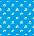 pyramid egypt pattern seamless blue vector image vector image