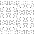 Seamless pattern semicircle vector image