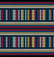 seamless vertical and horizontal knitting vector image vector image