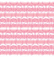 hand drawn doodle ice cream seamless pattern vector image