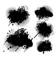 abs splash 2 vector image