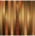 Brown wooden texture background vector image vector image