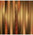 Brown wooden texture background vector image