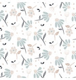 chamomile flowers modern pattern seamless vector image vector image
