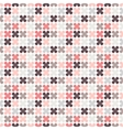cute retro abstract floral seamless pattern vector image vector image