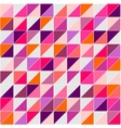 Flat surface tile triangle background wallapaper vector image vector image