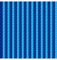 Pattern with blue vertical stripes vector image vector image