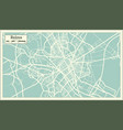 reims france city map in retro style outline map vector image vector image