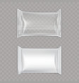 set white and vector image vector image