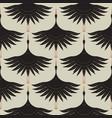 swans background pattern classic elegant design vector image vector image