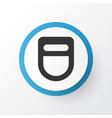 welding helmet icon symbol premium quality vector image