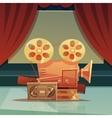 Cinema Retro Cartoon vector image vector image
