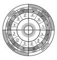cross zodiac with seasons zodiac signs