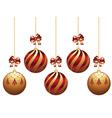 Decorative Xmas Balls9 vector image