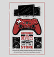 electronic appliances audio and game devices vector image