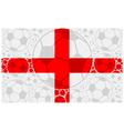 England soccer balls vector image