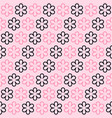 flower pattern seamless background vector image