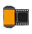 photographic roll isolated vector image vector image