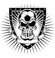Soccer skull shield