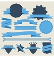 Stickers and Badges Flat Style vector image vector image