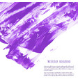 ultra violet purple fuchsia grunge marble vector image vector image