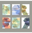 Abstract polygon design template vector image vector image