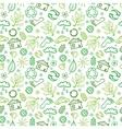 ecology symbols seamless pattern background