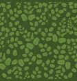 green leaves seamless pattern flat template vector image vector image