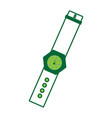 hand watch icon vector image