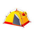 icon tent vector image vector image