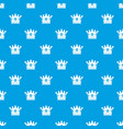 spica pattern seamless blue vector image vector image