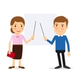 Training people icons vector image