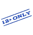 12 Plus Only Watermark Stamp vector image vector image